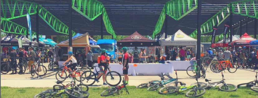 1f097b19 And, the most important strategic move we made was to commit – in a big way  – to being a full suspension mountain bike and gravel grinder demo center.